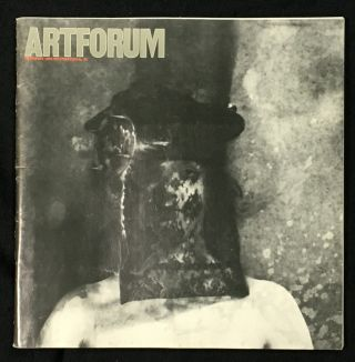 Artforum: 1984 February. Vol XXII No.6, with Joel Peter Witkin cover