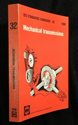 Mechanical Transmissions. ISO Handbook 32. International Standards Organization