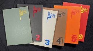 Blank Page: The full run of 6 volumes. Philip Dobree, Adrian Self