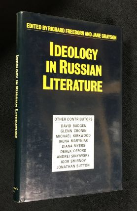 Ideology in Russian Literature. Richard Freeborn, Jane Grayson