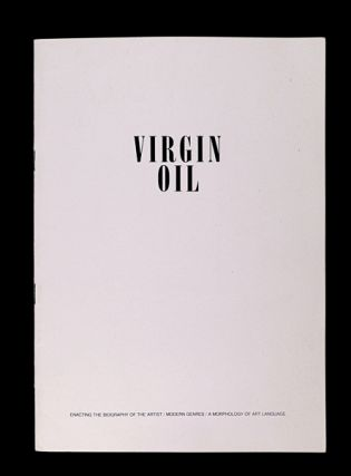 Virgin Oil. Nicholas DeVille.