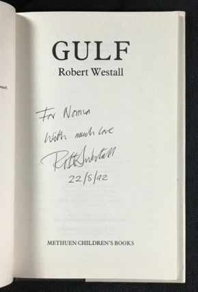 Gulf. [Inscribed & Signed copy]
