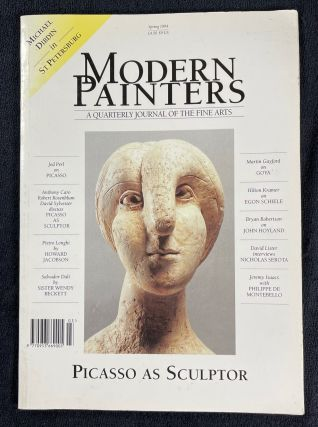 Modern Painters: A quarterly journal of the Fine Arts. Spring 1994. Cover picture - Picasso as...
