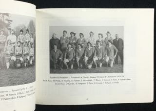 Southwold Town Football Club: A History of the First 100 Years.
