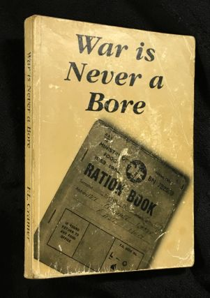 War is Never a Bore. F L. Cramer, 'Con Script'