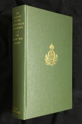 The History of the South Wales Borderers 1914-1918. C T. Atkinson