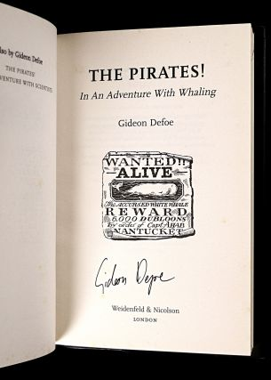The Pirates! In an Adventure with Whaling. [Signed Copy].