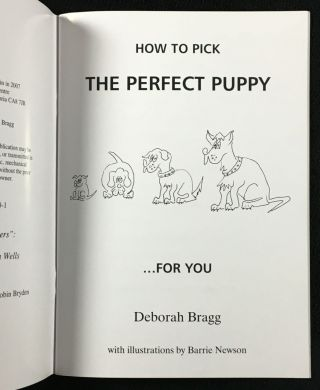 How to Pick the Perfect Puppy ...for You.