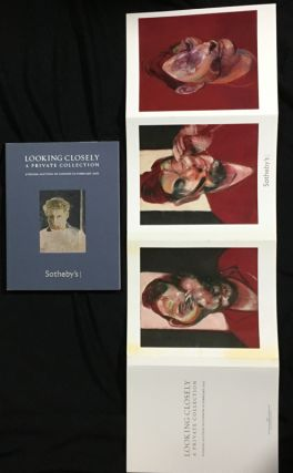 Looking Closely: A Private Collection. Evening Auction in London 10 February 2011. [Includes the Francis Bacon Triptych wraparound.]