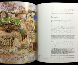 The Adorable Plot. Paintings and writings about garden allotments. [Signed copy]
